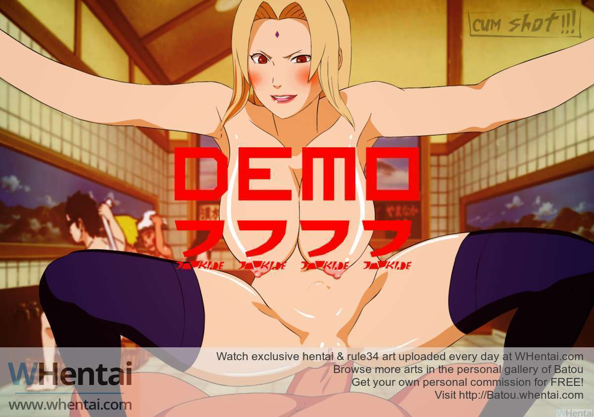 Drunk Tsunade fxxk Demo no sound liquid drops cum option