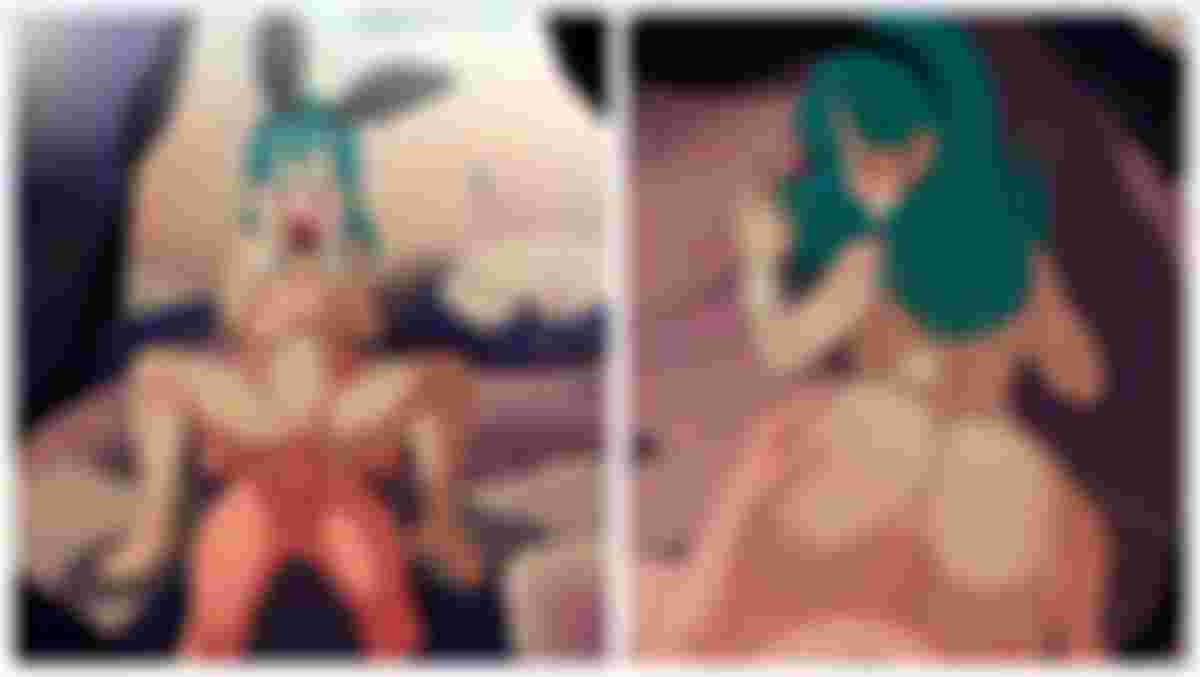 Bulma bunny ass porn dragon ball super