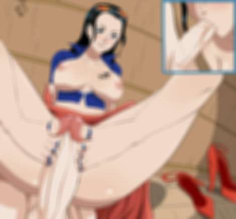 Nico robin Clothed Footjob Blowjob