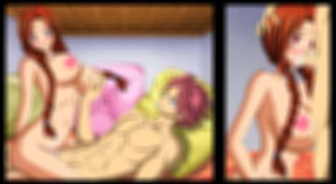 Flare is getting fucked and deep throating by Natsu